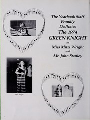 Page 8, 1974 Edition, Clintwood High School - Green Knight Yearbook (Clintwood, VA) online yearbook collection