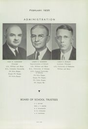 Page 11, 1935 Edition, Newport News High School - Anchor Yearbook (Newport News, VA) online yearbook collection