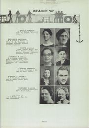 Page 17, 1937 Edition, Newport News High School - Anchor Yearbook (Newport News, VA) online yearbook collection