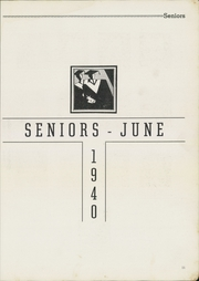 Page 13, 1940 Edition, Newport News High School - Anchor Yearbook (Newport News, VA) online yearbook collection