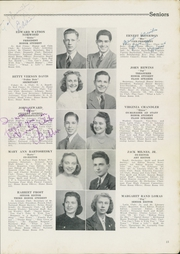 Page 15, 1940 Edition, Newport News High School - Anchor Yearbook (Newport News, VA) online yearbook collection