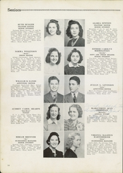 Page 16, 1940 Edition, Newport News High School - Anchor Yearbook (Newport News, VA) online yearbook collection