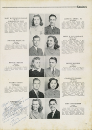 Page 17, 1940 Edition, Newport News High School - Anchor Yearbook (Newport News, VA) online yearbook collection
