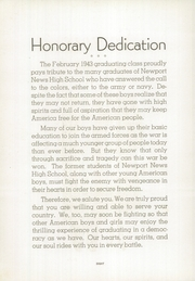 Page 10, 1943 Edition, Newport News High School - Anchor Yearbook (Newport News, VA) online yearbook collection