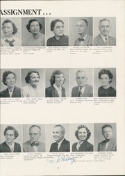 Page 17, 1954 Edition, Newport News High School - Anchor Yearbook (Newport News, VA) online yearbook collection