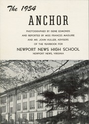 Page 6, 1954 Edition, Newport News High School - Anchor Yearbook (Newport News, VA) online yearbook collection