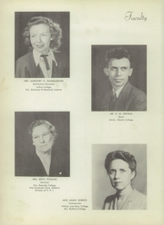 Page 14, 1948 Edition, Wythe High School - Echo Yearbook (Wytheville, VA) online yearbook collection