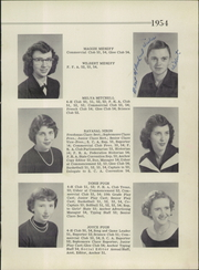 Page 13, 1954 Edition, Floyd High School - Admiral Yearbook (Floyd, VA) online yearbook collection