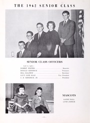 Page 12, 1962 Edition, Honaker High School - Torch Yearbook (Honaker, VA) online yearbook collection