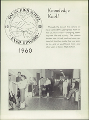 Page 7, 1960 Edition, Galax High School - Knowledge Knoll Yearbook (Galax, VA) online yearbook collection