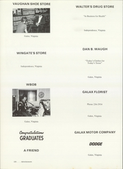Galax High School - Knowledge Knoll Yearbook (Galax, VA) online yearbook collection, 1970 Edition, Page 162