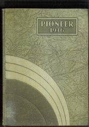 Page 1, 1936 Edition, Andrew Lewis High School - Pioneer Yearbook (Salem, VA) online yearbook collection