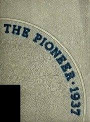 Andrew Lewis High School - Pioneer Yearbook (Salem, VA) online yearbook collection, 1937 Edition, Page 1