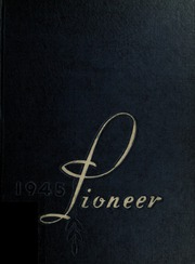 Andrew Lewis High School - Pioneer Yearbook (Salem, VA) online yearbook collection, 1945 Edition, Page 1