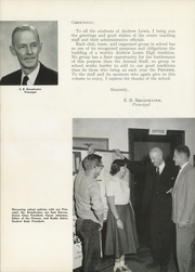 Page 10, 1955 Edition, Andrew Lewis High School - Pioneer Yearbook (Salem, VA) online yearbook collection