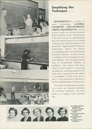 Page 17, 1955 Edition, Andrew Lewis High School - Pioneer Yearbook (Salem, VA) online yearbook collection