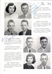 Page 12, 1953 Edition, George Mason High School - Mustang Yearbook (Falls Church, VA) online yearbook collection