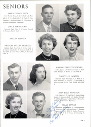 Page 13, 1953 Edition, George Mason High School - Mustang Yearbook (Falls Church, VA) online yearbook collection