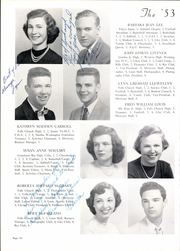 Page 14, 1953 Edition, George Mason High School - Mustang Yearbook (Falls Church, VA) online yearbook collection