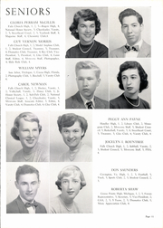 Page 15, 1953 Edition, George Mason High School - Mustang Yearbook (Falls Church, VA) online yearbook collection