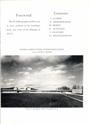 Page 7, 1953 Edition, George Mason High School - Mustang Yearbook (Falls Church, VA) online yearbook collection