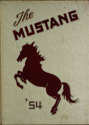 1954 Edition, George Mason High School - Mustang Yearbook (Falls Church, VA)