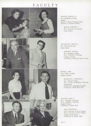 Page 14, 1955 Edition, George Mason High School - Mustang Yearbook (Falls Church, VA) online yearbook collection