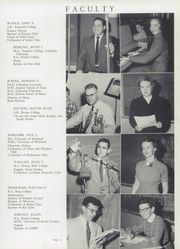 Page 15, 1955 Edition, George Mason High School - Mustang Yearbook (Falls Church, VA) online yearbook collection