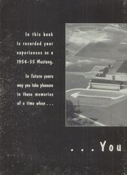 Page 6, 1955 Edition, George Mason High School - Mustang Yearbook (Falls Church, VA) online yearbook collection