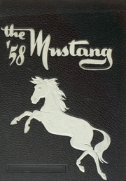 1958 Edition, George Mason High School - Mustang Yearbook (Falls Church, VA)