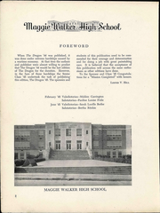 Page 4, 1945 Edition, Maggie L Walker High School - Dragon Yearbook (Richmond, VA) online yearbook collection