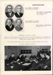 Page 16, 1941 Edition, Lane High School - Chain Yearbook (Charlottesville, VA) online yearbook collection