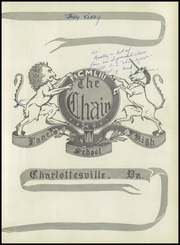 Page 7, 1953 Edition, Lane High School - Chain Yearbook (Charlottesville, VA) online yearbook collection