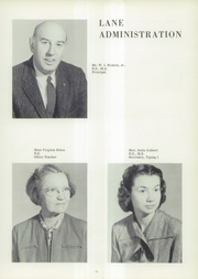 Page 17, 1960 Edition, Lane High School - Chain Yearbook (Charlottesville, VA) online yearbook collection