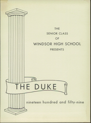 Page 5, 1959 Edition, Windsor High School - Duke Yearbook (Windsor, VA) online yearbook collection