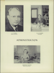 Page 7, 1959 Edition, Windsor High School - Duke Yearbook (Windsor, VA) online yearbook collection