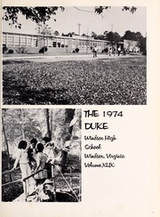 Page 5, 1974 Edition, Windsor High School - Duke Yearbook (Windsor, VA) online yearbook collection