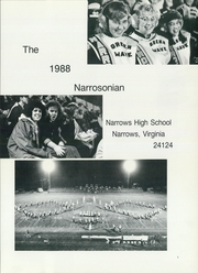 Page 5, 1988 Edition, Narrows High School - Narrosonian Yearbook (Narrows, VA) online yearbook collection