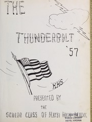Page 5, 1957 Edition, Haysi High School - Thunderbolt Yearbook (Haysi, VA) online yearbook collection