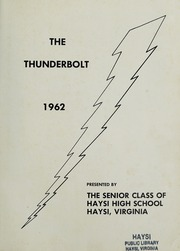 Page 5, 1962 Edition, Haysi High School - Thunderbolt Yearbook (Haysi, VA) online yearbook collection