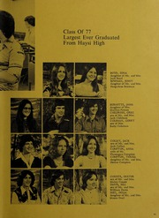Page 23, 1977 Edition, Haysi High School - Thunderbolt Yearbook (Haysi, VA) online yearbook collection