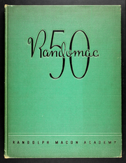 Page 1, 1950 Edition, Randolph Macon Academy - Yearbook (Front Royal, VA) online yearbook collection