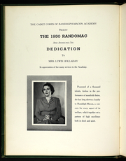 Page 12, 1950 Edition, Randolph Macon Academy - Yearbook (Front Royal, VA) online yearbook collection