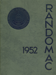 1952 Edition, Randolph Macon Academy - Yearbook (Front Royal, VA)