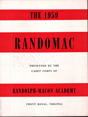 Page 7, 1959 Edition, Randolph Macon Academy - Yearbook (Front Royal, VA) online yearbook collection