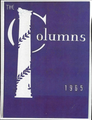 1965 Edition, King William High School - Columns Yearbook (King William, VA)