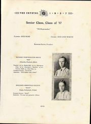 Page 17, 1937 Edition, Lexington High School - Crystal Yearbook (Lexington, VA) online yearbook collection