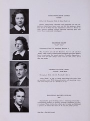 Page 14, 1941 Edition, Lexington High School - Crystal Yearbook (Lexington, VA) online yearbook collection