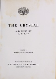 Page 5, 1944 Edition, Lexington High School - Crystal Yearbook (Lexington, VA) online yearbook collection