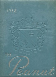 1958 Edition, Suffolk High School - Peanut Yearbook (Suffolk, VA)